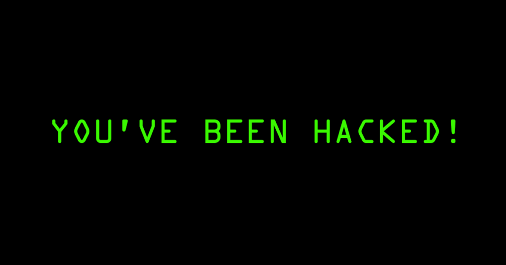 What to do if your account is hacked